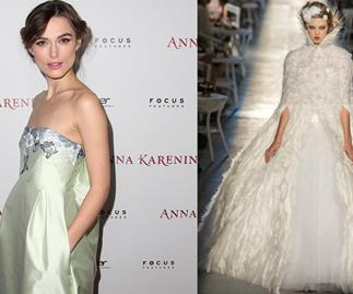 "Keira Knightley: wedding planning is ""terrifying"""