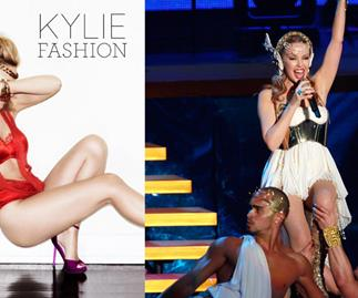 Kylie Minogue launches fashion book