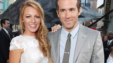 Blake Lively marries in Marchesa