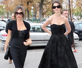 Katie Holmes joins Victoria Beckham for New York Fashion Week