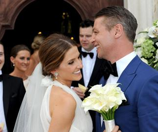 Kate Waterhouse and Luke Ricketson's sun-drenched Italian wedding