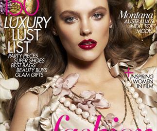 Australia's Next Top Model Winner: Montana BAZAAR Cover