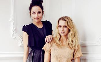 A beautiful friendship: Teresa Palmer & Ellery by Darren McDonald