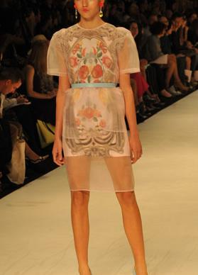 Alice McCall: Australian fashion week collection