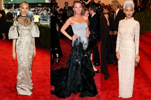 Lauren Santo Domingo in Dolce & Gabbana, Blake Lively in Gucci and Nicole Richie in Topshop.