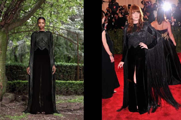 Florence Welch in Givenchy.
