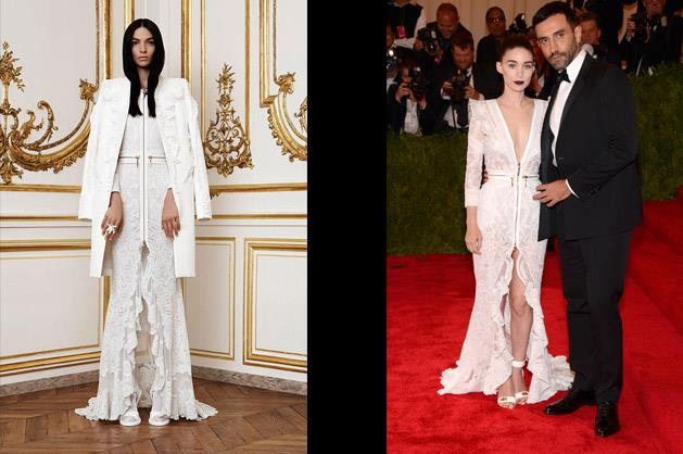 Rooney Mara in Givenchy – photographed with Riccardo Tisci.