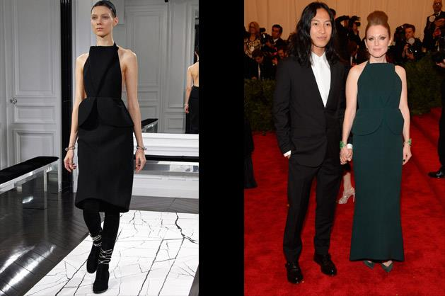Julianne Moore in Balenciaga – photographed with Alexander Wang.