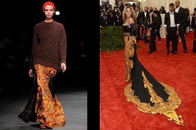 Beyoncé in Givenchy.