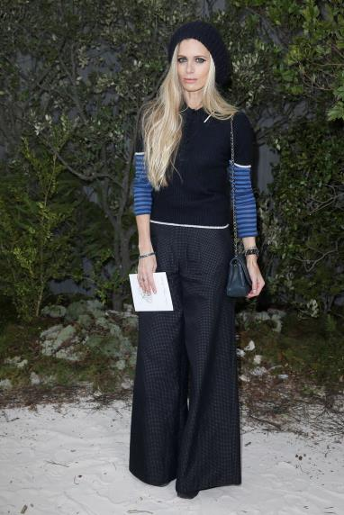 Laura Bailey at Chanel.