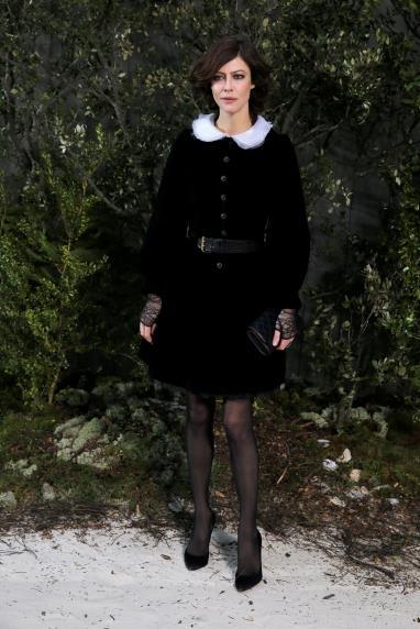 Anna Mouglalis at Chanel.