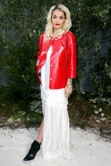 Rita Ora at Chanel.