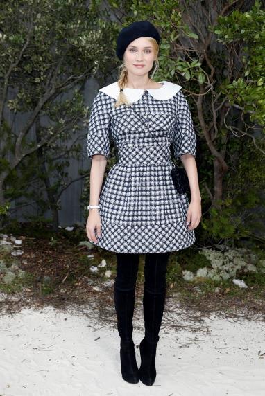 Diane Kruger at Chanel.