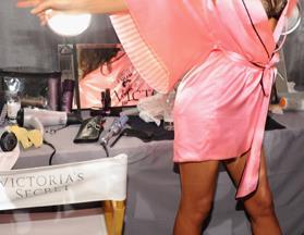 Backstage at Victoria's Secret 2012