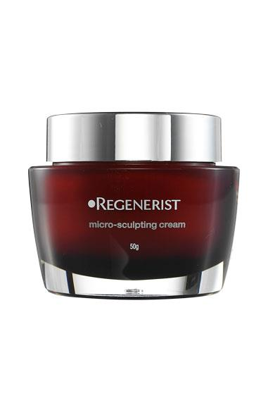 When blind-trialled against 24 prestige face creams priced between $100 and $350, this little baby outperformed them all. Serving up intense hydration and peptides galore, it's not only a great daily moisturiser but also a nice firming treatment. Olay Regenerist Micro-Sculpting Cream, $50, 1800 028 280.