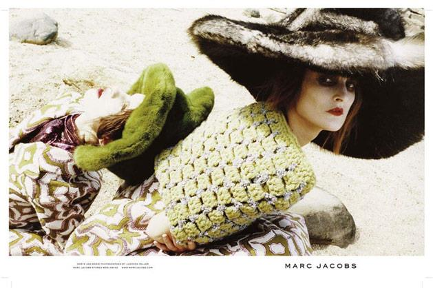 Shot by Juergen Teller, Marc Jacobs' A/W 12-13 campaign stars French model Marie Piovesan and Marte Mei van Haaster.