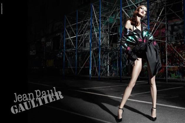 Jean Paul Gaultier A/W 12-13 photographed by Willy Vanderperre and starring Karlie Kloss.