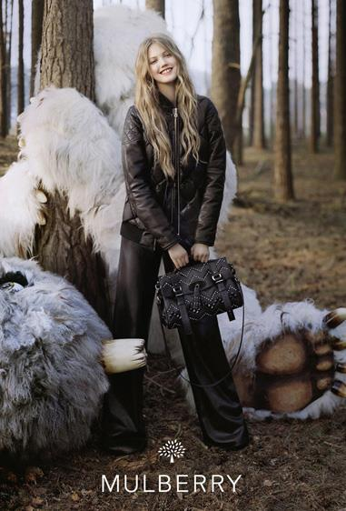 Mulberry A/W 12-13 lensed by Tim Walker and starring Lindsey Wixson.