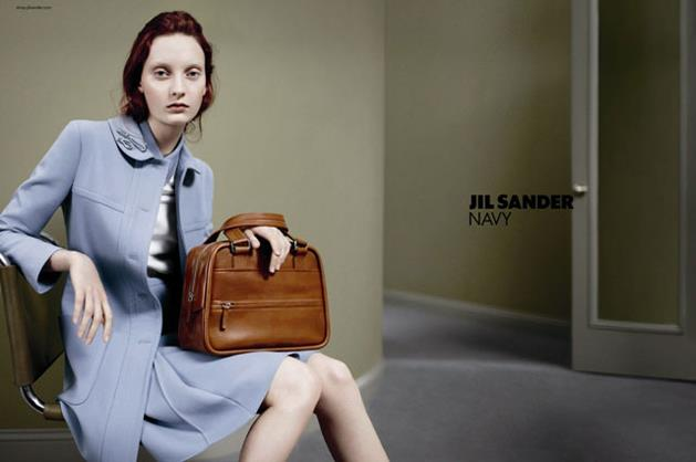 Jil Sander Navy A/W 12-13, shot by Daniel Jackson, styled by Alistair McKimm and starring Australian model Codie Young.