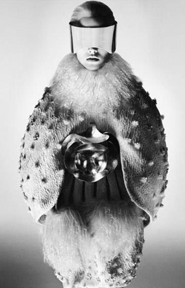 Alexander McQueen A/W 12-13, lensed by David Sims and starring Suvi Koponen.