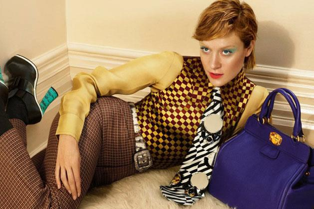Miu Miu A/W 12-13, shot by Mert Alas and Marcus Piggott, starring actor Chloe Sevigny.