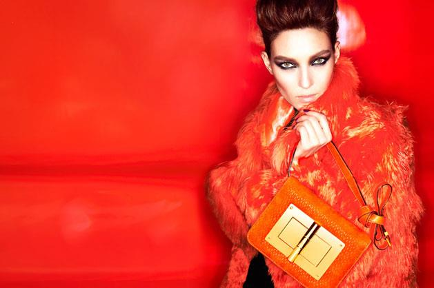 Tom Ford A/W 12-13, shot by Tom ford and starring German model Kati Nescher.
