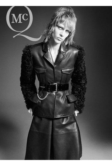 McQ A/W 12-13, shot by David Sims and starring model Aymeline Valade.