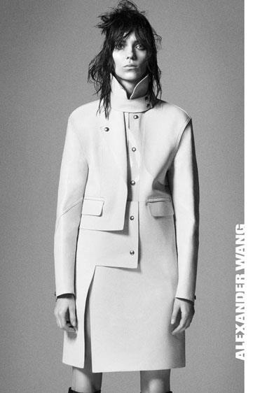 Alexander Wang A/W 12-13, shot by David Sims and starring model Kati Nescher.
