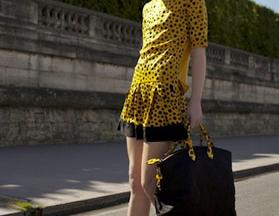 Louis Vuitton collaborates with Japanese artist Yayoi Kusama on a range of dotty clothing and accessories