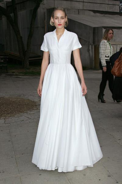 Leelee Sobieski in Jil Sander at Vanity Fair's Tribeca Film Festival party