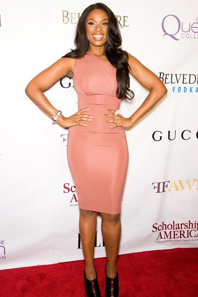 Jennifer Hudson showed off her new figure in a Victoria Beckham dress at the Mary J. Blige Honors Concert in May 2011.