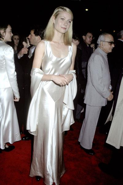 Wearing Calvin klein to the premiere of Jefferson in Paris in 1998