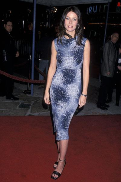 Gwyneth opts for Gucci at the premiere of The Talented Mr Ripley in New York in 1999