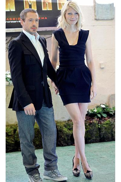 After a year out of the limelight, Paltrow debuts her toned and terrific silhouette in Preen at the Cannes Film festival in 2008