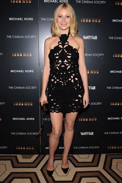 Wearing Stella McCartney to a cinema society screening in 2008