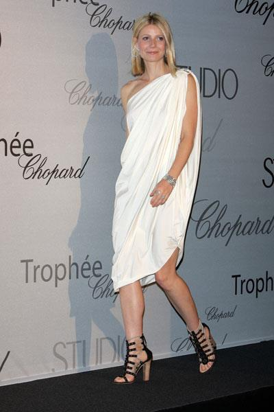 Paltrow is simply chic in Lanvin at the Cannes Film Festival in 2008