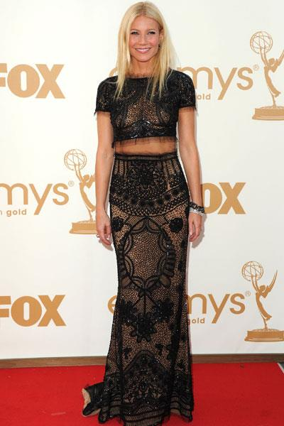 Wearing Pucci to the Emmy Awards in 2010