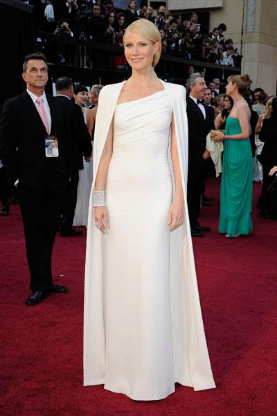 Paltrow shot to the top of best dressed lists around the globe in the Tom Ford gown she chose for the 2012 Oscars
