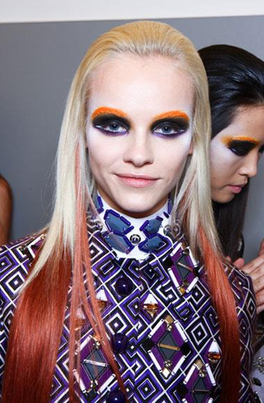 Elaborate eyes: Prada A/W 2012-2013