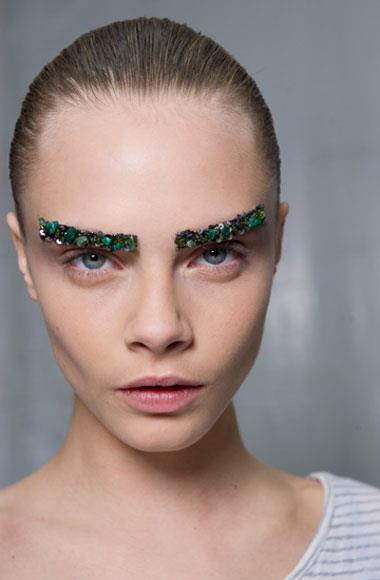 Elaborate eyes: Chanel A/W 2012-2013