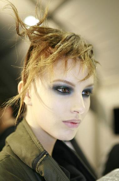 Architectural hair: John Galliano A/W 2012-2013