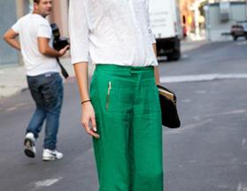 Shop the trend: coloured pants