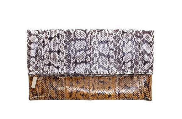 Fendi clutch bag, $1235, from a selection at David Jones, 13 33 57.