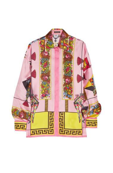 Versace shirt, $1310, from www.net-a-porter.com.