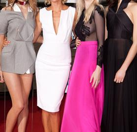 Red carpet: Australia's Next Top Model live finale 2011