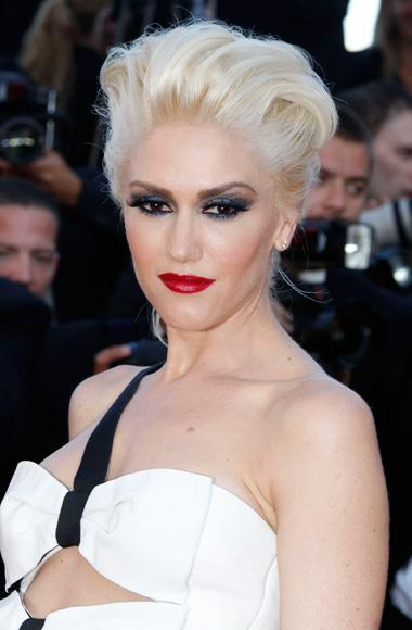 Gwen Stefani on the red carpet at Cannes.