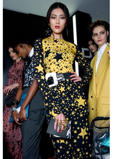 Backstage at Dolce & Gabbana A/W 11-12