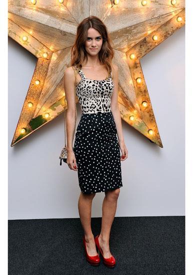 Jade Williams in Dolce & Gabbana A/W 11-12