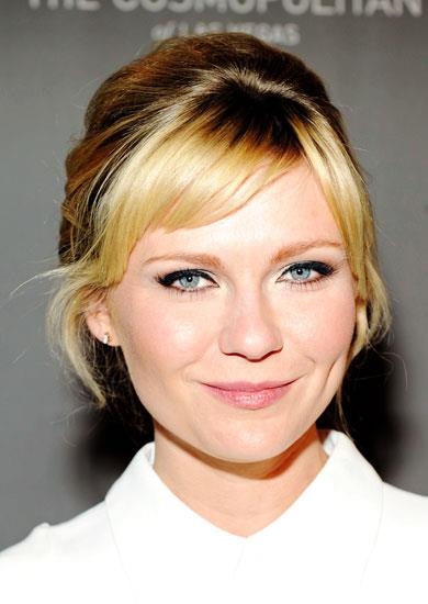 "1. SIDESWEPT FRINGE ""A fringe gives you an instant hairstyle and tons of versatility at any age,"" says Mark Townsend, Reese Witherspoon's stylist. Short fringes look flirty and feminine in your twenties, but trim them right at the brow level as you get older. Key product: A polishing serum such as Redken Glass 01 Smoothing Serum, $26, 1300 650 170, to keep flyaways at bay. Pictured: Kirsten Dunst."
