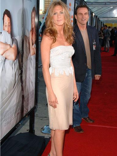 At the Los Angeles premiere of The Break-Up